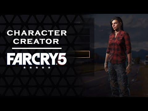 FAR CRY 5 - CHARACTER CUSTOMIZATION | Female [FC5]