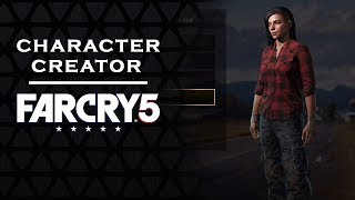 FAR CRY 5 - CHARACTER CUSTOMIZATION | Female [FC5]