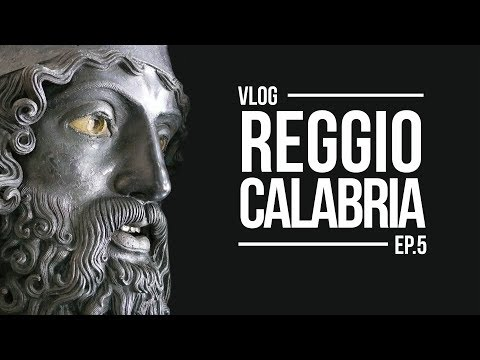 CALABRIA 2017  - Bronzi di Riace e Reggio Calabria - Vlog - 29.07.17