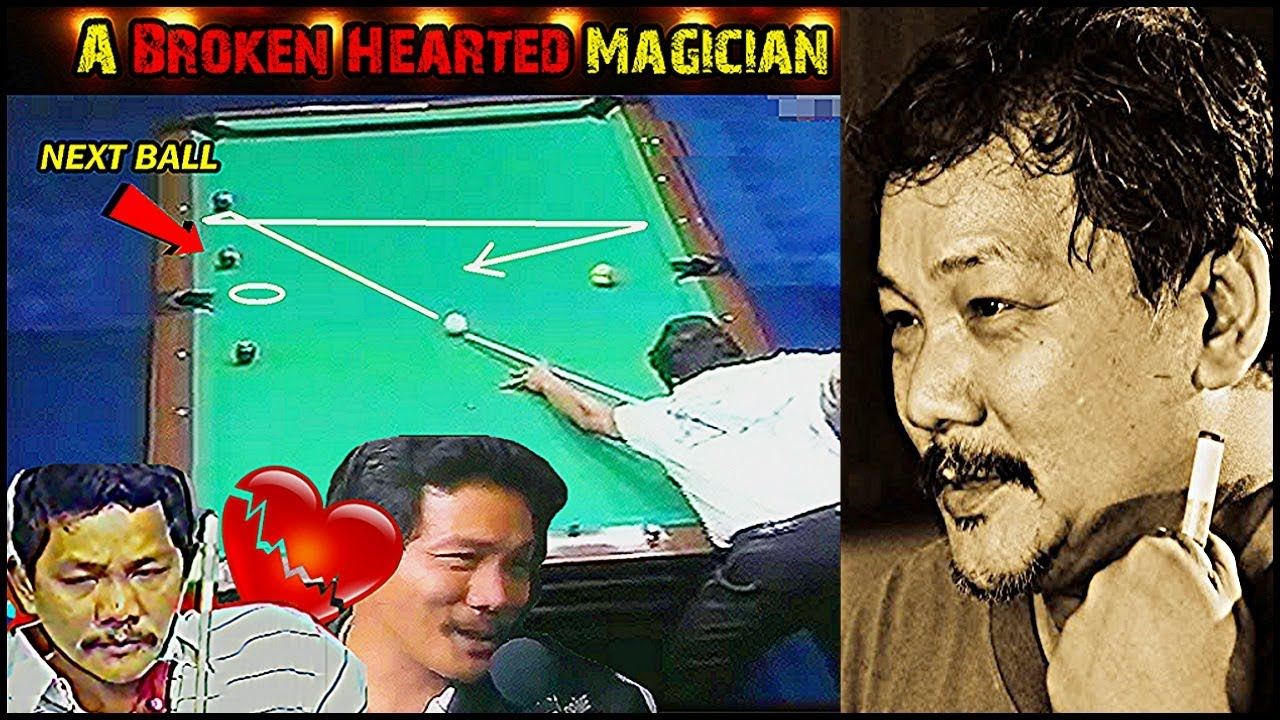 EFREN REYES PLAYING WITH A BROKEN HEART