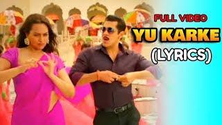 Download Lagu Dabangg 3 - Saadi Ka Pallu Ghuma Ke Yu Karke Full Song Yu Karke Salman Khan MP3