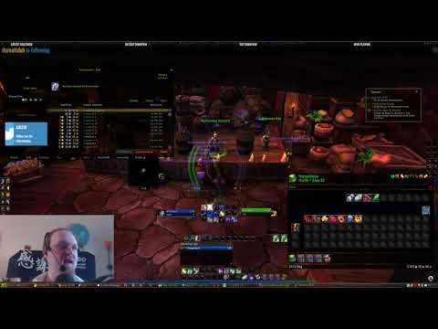 Lore of Nerds - World of warcraft leveling a shaman US (day15)