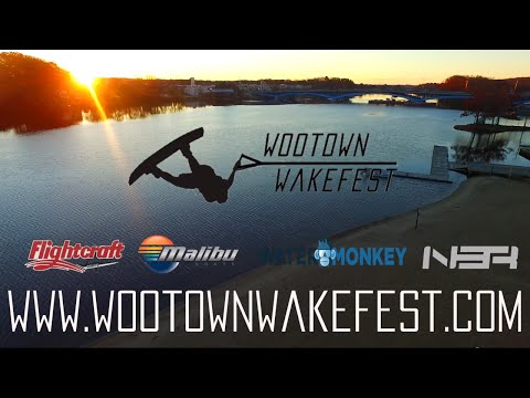 Wootown Wakefest Drone Overview