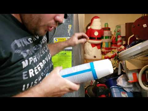 Cleaning your air conditioner evaporator coil, air conditioning not cooling part 1