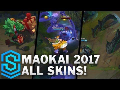 Maokai | Midseason Update 2017 | All Skins