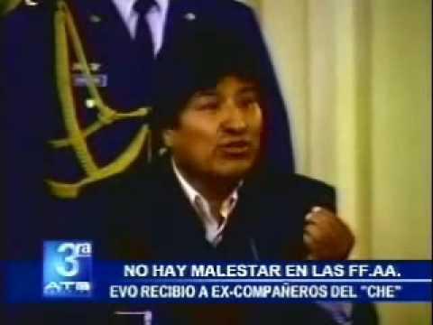 Evo Morales recuerda la captura del Che Guevara