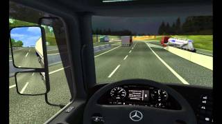 Mercedes Benz Actros 1844 MP3 Stock Transporte