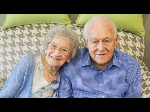 99-Year-Old Couple Marks 80th Wedding Anniversary With Serenade and Cake