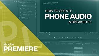 Adobe Premiere CC Telefon ses oluşturmak için nasıl