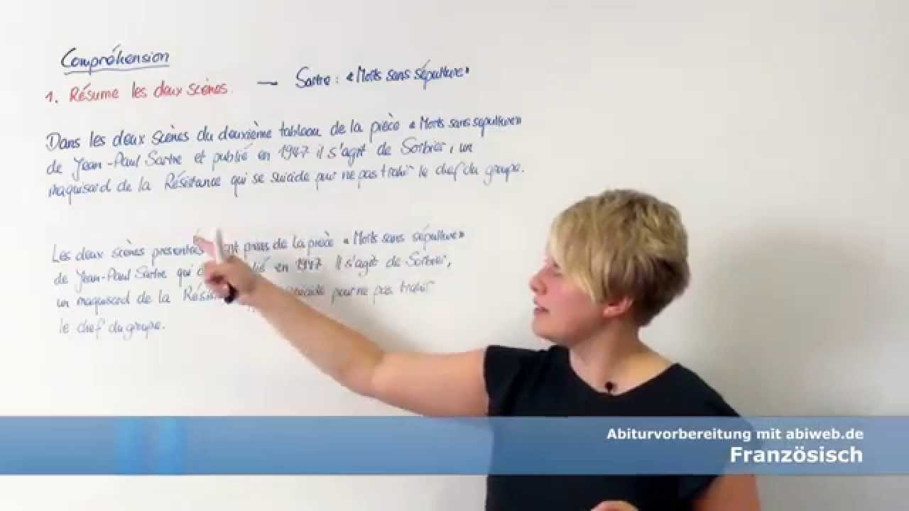 Der Einleitungssatz Französisch Abitur Youtube
