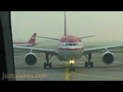 LTU A330 departing Dusseldorf