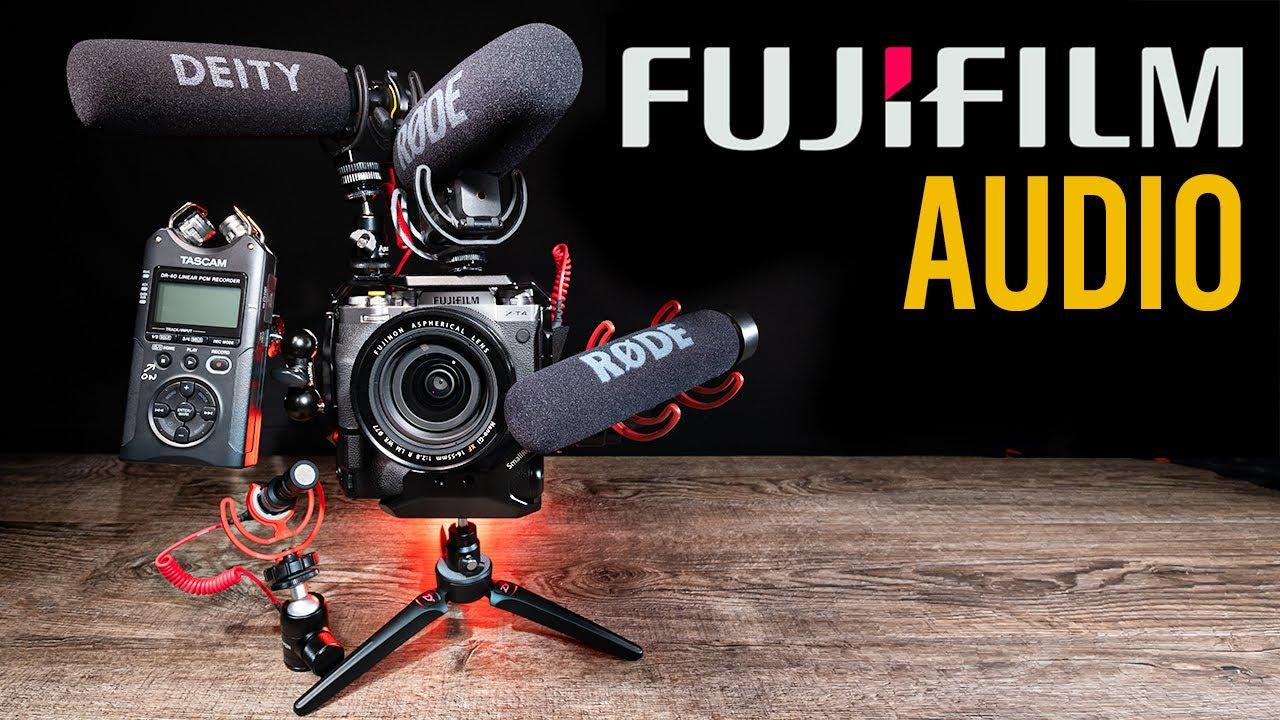 Fujifilm Audio for Video