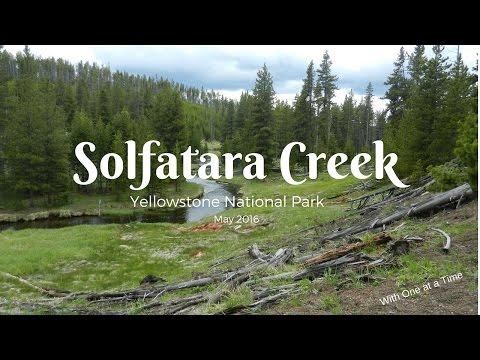Solfatara Creek - Yellowstone