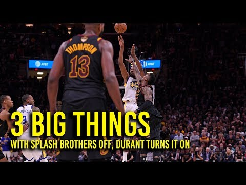 Kurtenbach: What we learned in the Warriors' NBA Finals Game 3 win over the Cavs