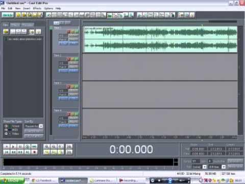 como cambiar de modo wav a mp3 en cool edit pro 2.0