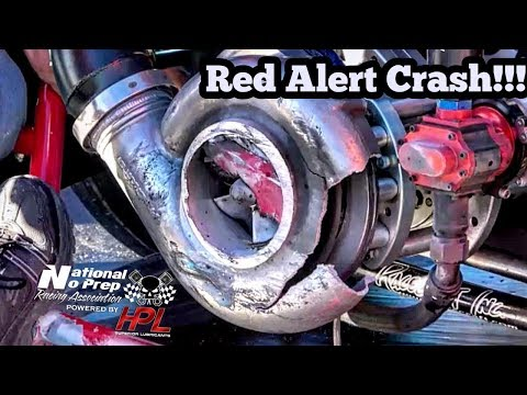 Red Alert Procharged Massive Crash at Winter Meltdown No Prep