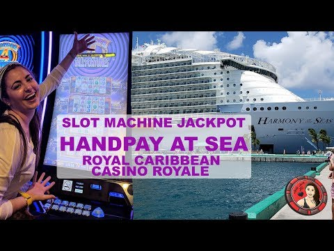 FIRST EVER SLOT JACKPOT HANDPAY ON ROYAL CARIBBEAN   BUFFALO GOLD   HARMONY OF THE SEAS