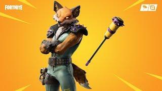 Fortnite fox skin. Fennix - new pickaxes