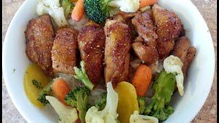 How To Make Yoshinoya Style Teriyaki Chicken & Sauce Recipe !