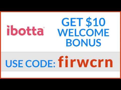 Get a $10 Welcome Bonus (+ MORE) - Ibotta Coupon Redemption
