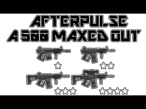 Afterpulse: 1★- 4★ A 500 Maxed Out Gameplay [HD]