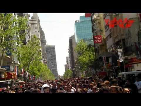 ZOMBIE WALK.  2. 11. 11. Montevideo. Uruguay