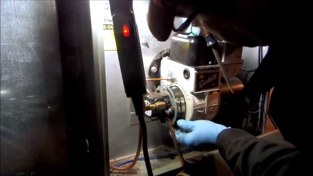 Hvac Ruud Achiever Oil Fired Furnace No Heat Call Youtube