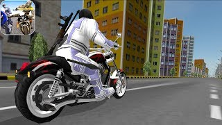 BIKE ATTACK RACE - Walkthrough Gameplay Part 1 - INTRO (Highway Tricky Stunt Rider Android Game) screenshot 2
