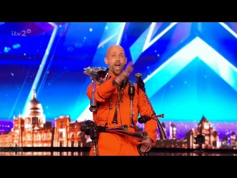 Britain's Got More Talent 2017 Dave the Horn Guy Full Clip S11E06