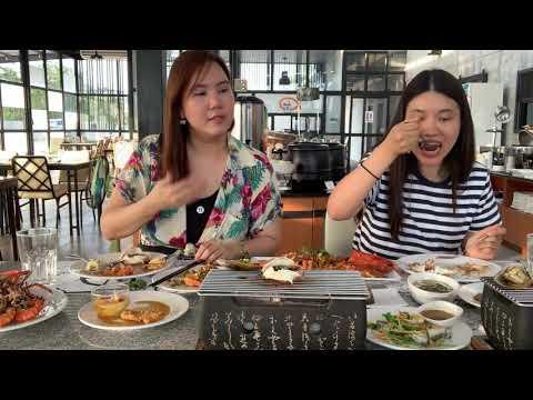 Seafresh Riverside; seafood buffet review รีวิวบุฟเฟต์อาหารทะเล
