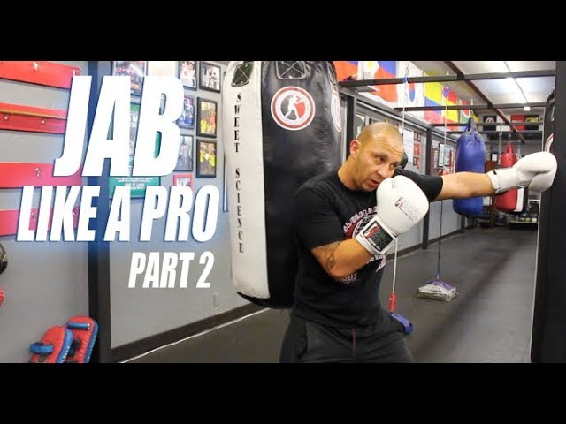 Learning the Jab Part 2