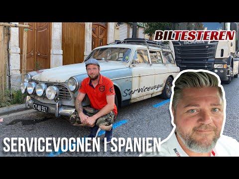 Servicevognen i Spanien! (hyggevideo)