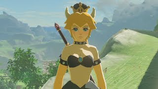 BOWSETTE IN BREATH OF THE WILD!