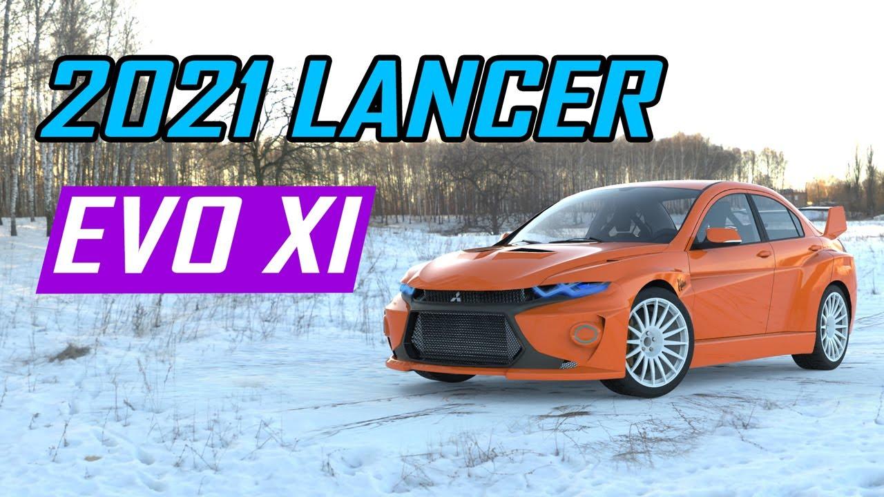 2021 Mitsubishi Lancer EVO XI Exterior and Interior