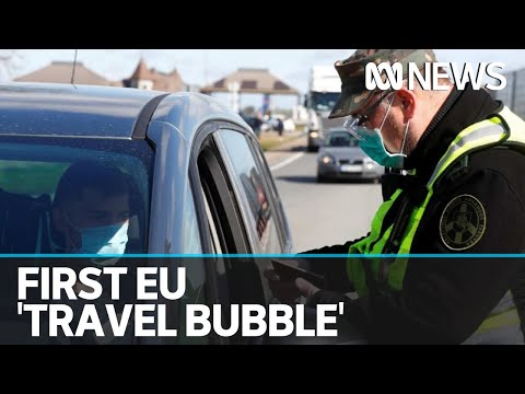 baltic-states-open-europe-s-first-corona-pandemic-travel-bubble-as-restrictions-ease-|-abc-news
