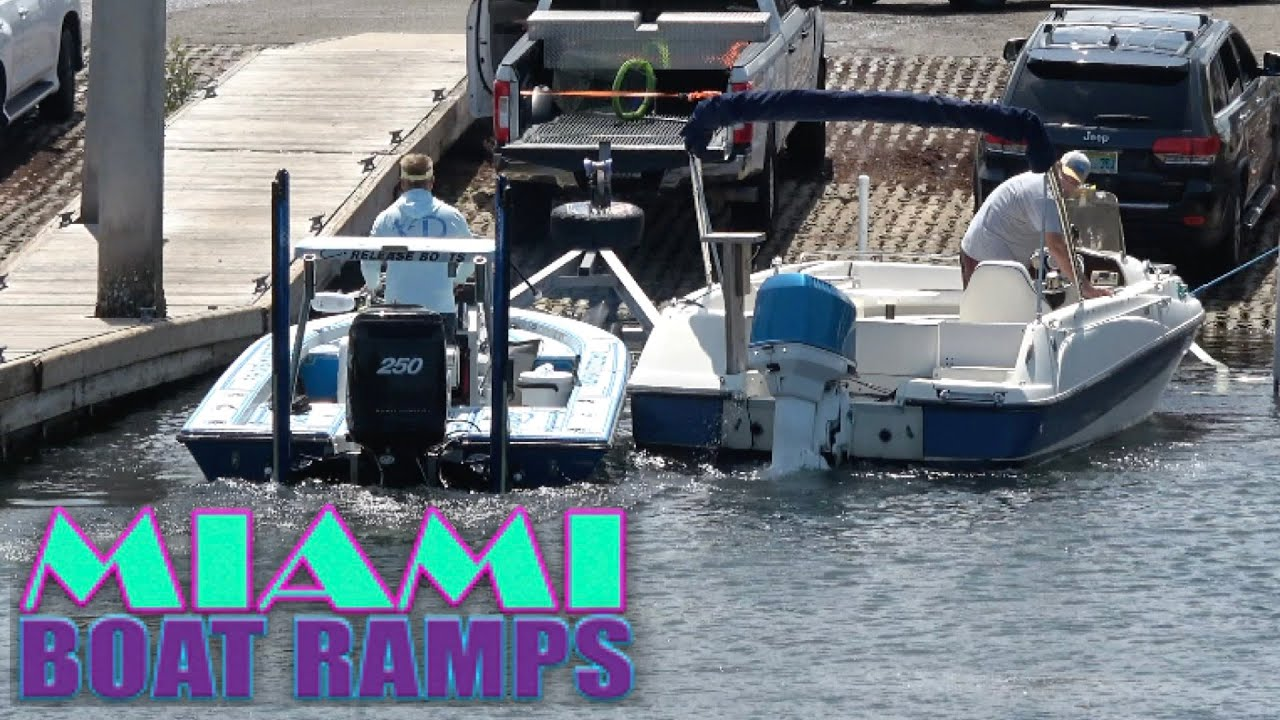 These Boats Collide!! | Miami Boat Ramps | Boynton Beach