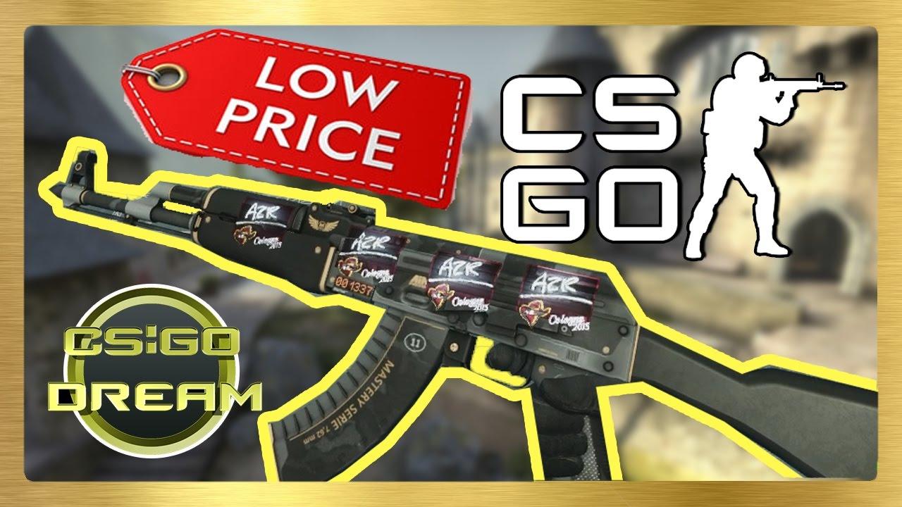BEST CHEAP STICKER COMBINATIONS FOR AK-47 | Elite Build | CSGO