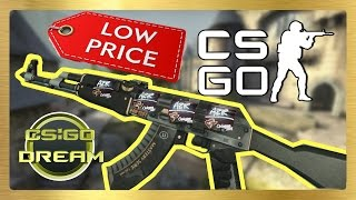 BEST CHEAP STICKER COMBINATIONS FOR AK-47 | Elite Build | CSGO