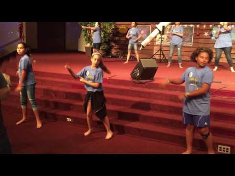 FBC Allen 2017 VBS Music Team  Sin Messed Everything Up Day 2 Song