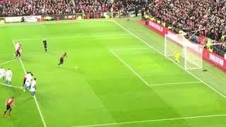 Paul pogba scores penalty for Man United Vs Brighton , full run up