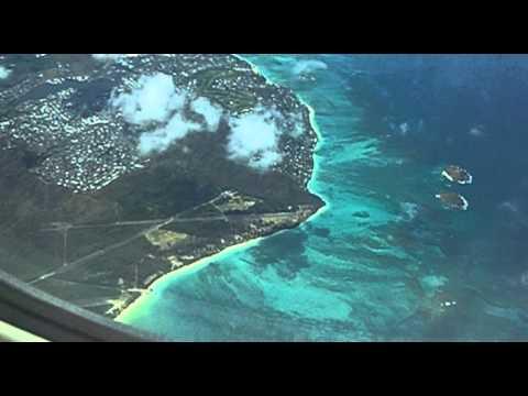 Arriving in Honolulu, Delta Air Lines, Honolulu, Oahu, Hawaii, United States, North America