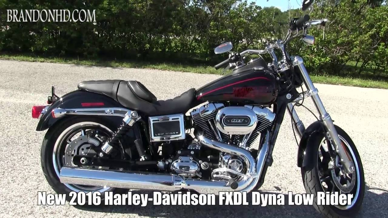 2016 Harley Davidson Dyna Low Rider - 2018 Motorcycles ...