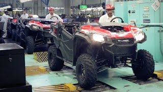 2017 Honda FourTrax Rancher and Pioneer 1000 Production