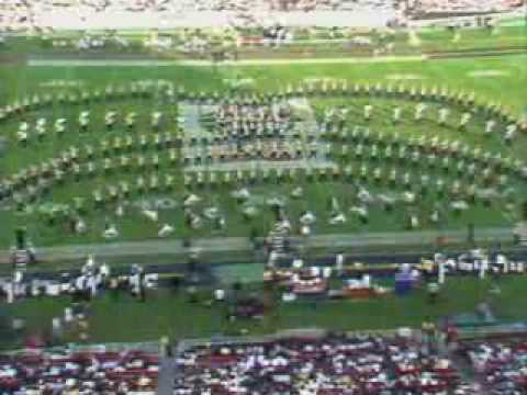 Michigan Marching Band Plays Malagueña