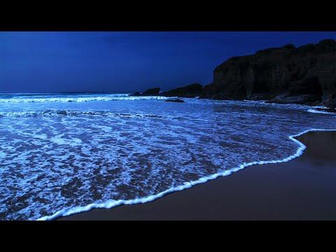 Deep Sleep White Noise Sounds, Ocean Waves Whispering ASMR For Sleeping