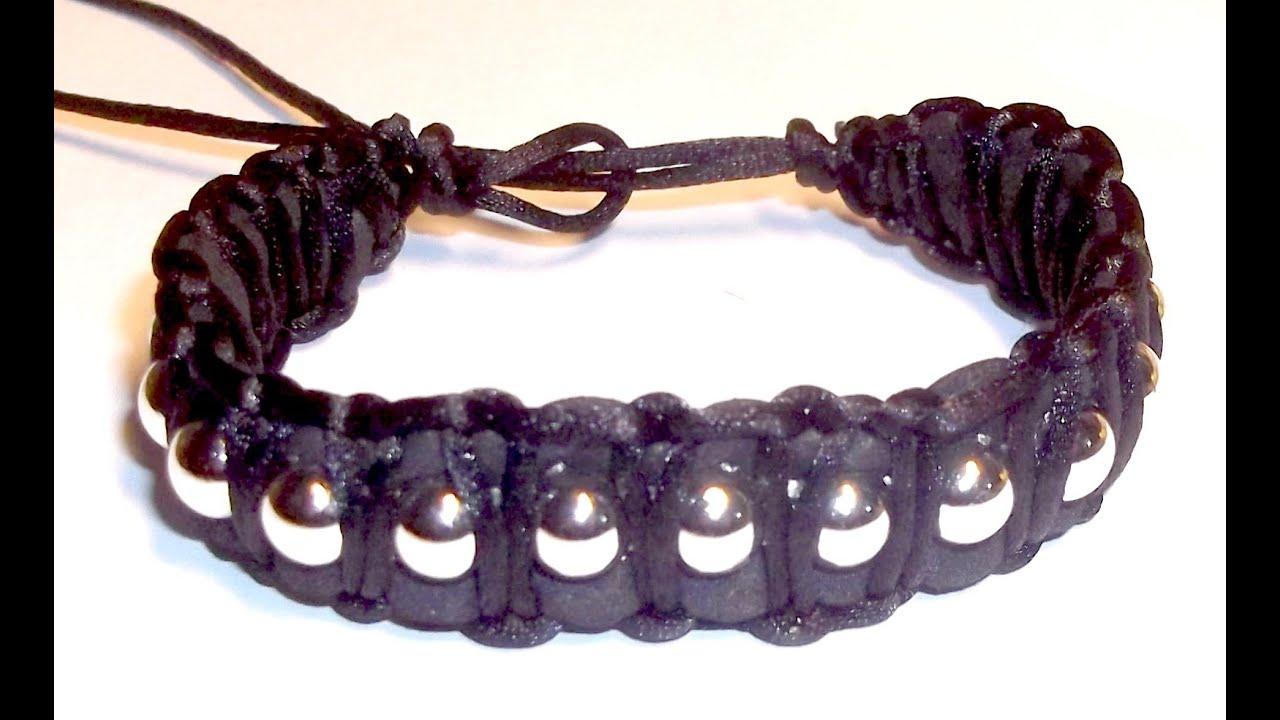 Tutorial diy como hacer una pulsera con goma eva y cadena for Como hacer pulseras de goma eva