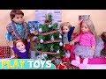 AG Baby Dolls Family DIY Dollhouse and Christmas Tree! Decoration