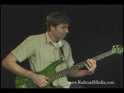 Railroad Media: Bass Hand Technique - DVD Trailer 2