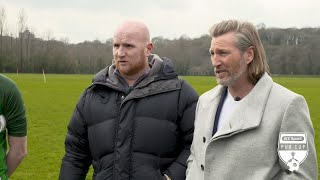 Savage and Hartson take on Pub Cup management roles