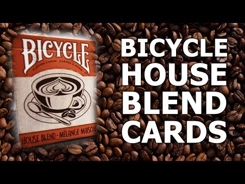 Deck Review - Bicycle House Blend Playing Cards [HD]